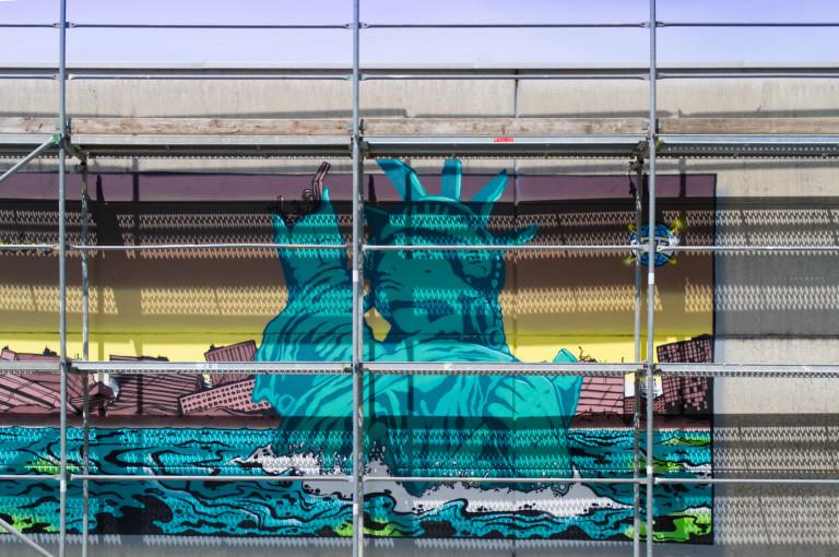 streetart in der gmunder straße